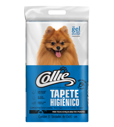 Tapete Higiênico Collie 30 un.